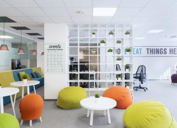 Work'inn bendradarbystės erdvė