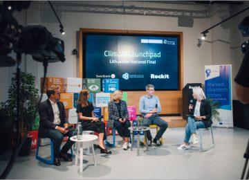 """""""ClimateLaunchpad"""" nacionalinis finišas: tvariausios idėjos ir diskusijos apie planetos bei verslo ateitį"""