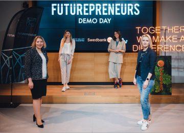 """Finišavo tvaraus verslo skatinimo programa """"Futurepreneurs"""""""
