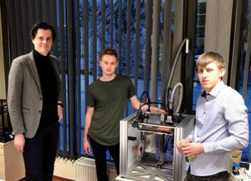 """""""Cyber POD"""" 3D spausdintuvas – galimybė atspausdinti veikiantį elektronikos prietaisą"""